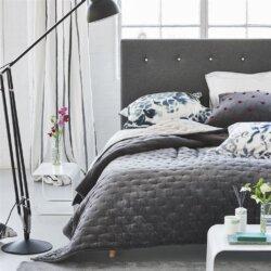 Sevanti Graphite & Pink Designers Guild Small 230x230cm