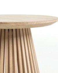 Stolik kawowy Jeanette Wood 50cm