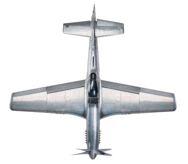 MODEL SAMOLOTU P-51 MUSTANG