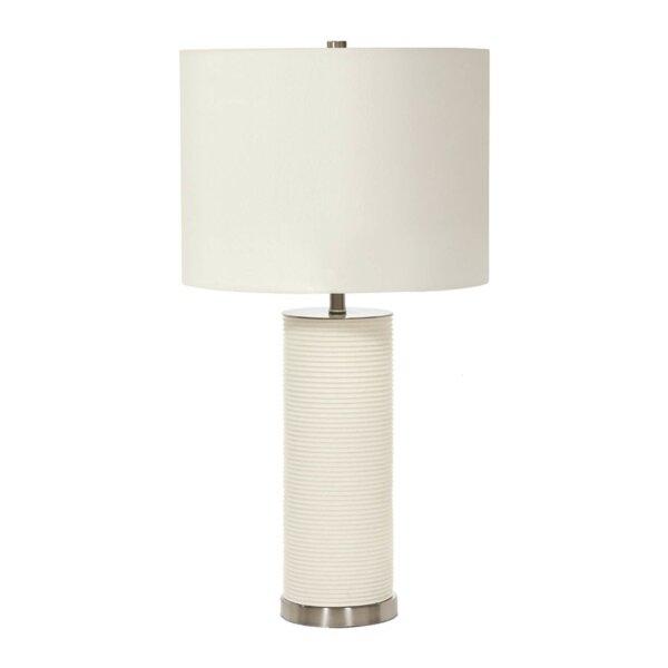 LAMPA STOŁOWA RIPPLE WHITE ALMIDECOR