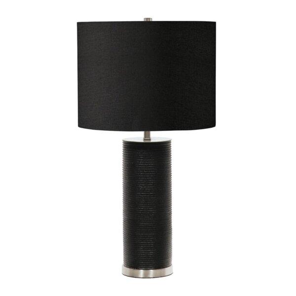 LAMPA STOŁOWA RIPPLE BLACK ALMIDECOR