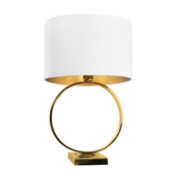 LAMPA STOŁOWA HOOP WHITE ALMIDECOR