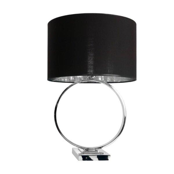 LAMPA STOŁOWA HOOP BLACK ALMIDECOR