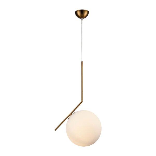 Lampa Diwali złota 20cm