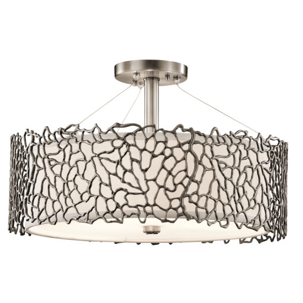 Wielofunkcyjna lampa Silver Coral