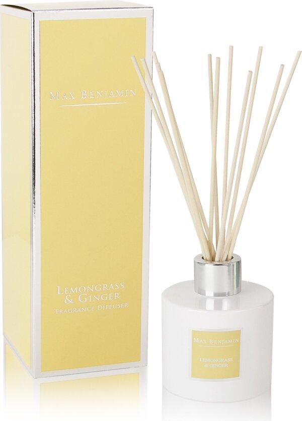 Dyfuzor zapachowy Lemongrass & Ginger