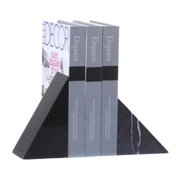 Zestaw podpórek do książek Andes Black