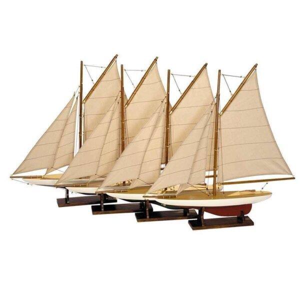 Model Statku Mini Pond Yacht / sztuka