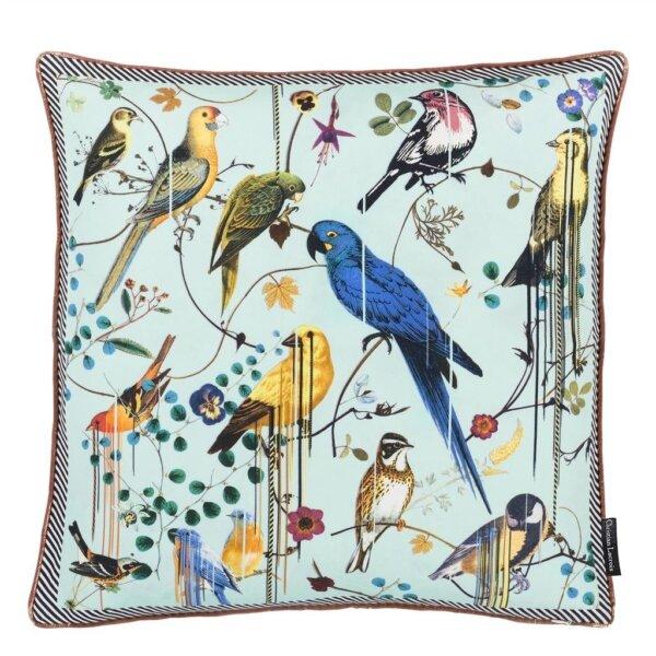 Christian Lacroix : poduszka dekoracyjna birds sinfonia crepuscule