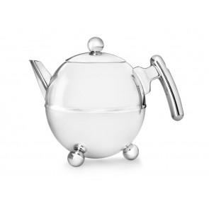 Teapot Duet® Bella Ronde 1.5L, chrom