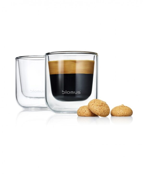 Zestaw 2 szklanek Espresso