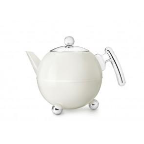 Teapot Duet® Bella Ronde 1.2L, white