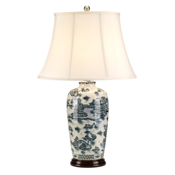 LAMPKA STOŁOWA BLUE TRAD WILLOW