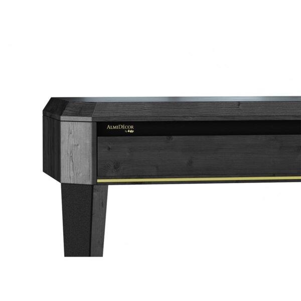 KONSOLA EMERALD BLACK 140 cm