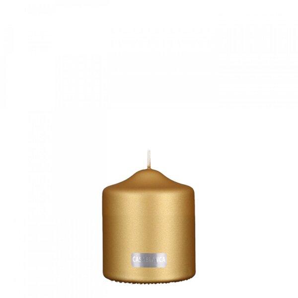 Świeca 10 cm Gold