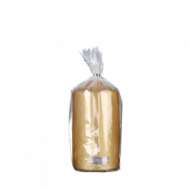 Świeca 15 cm Gold