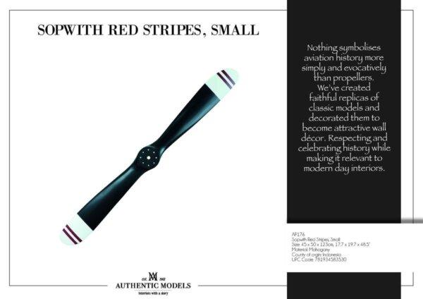 ŚMIGŁO SOPWITH RED STRIPES,S - 120 CM - AUTHENTIC MODELS