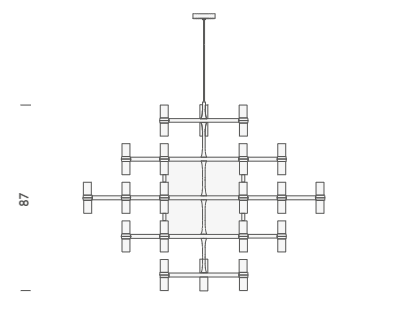 Nemo Żyrandol Crown Major