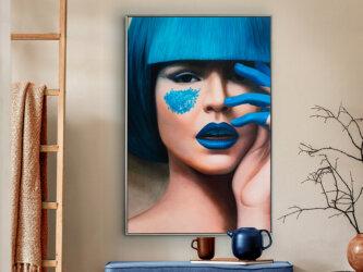 Blue Obraz