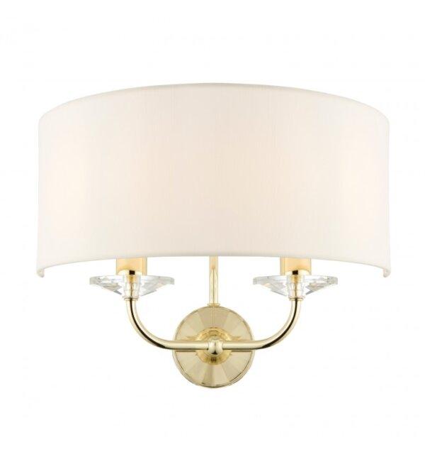 Kinkiet Nixon Brass Endon Lighting