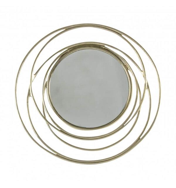Lustro Allende Satin Silver