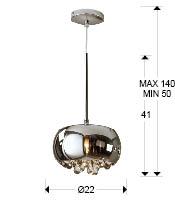 Argos lampa wisząca 1 L Schuller