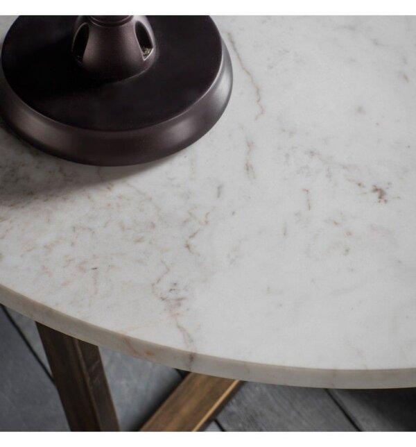 Stolik kawowy Cleo Marble 80 cm