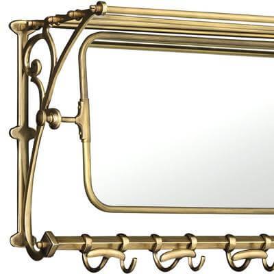 Wieszak Varadero z lustrem Eichholtz