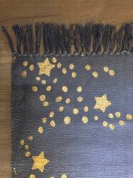 Dywan Stars Night szary 100 x 140 cm