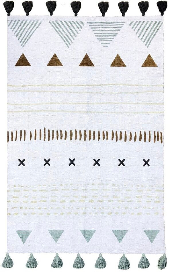 Dywan plemienny 100 x 140 cm