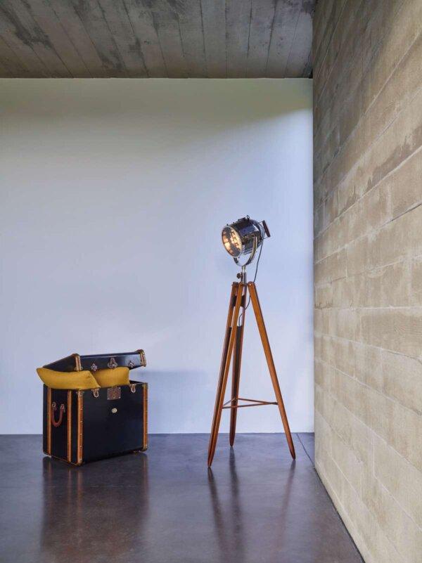 Kuferek / Stolik Czarny Stateroom by Authentic Models