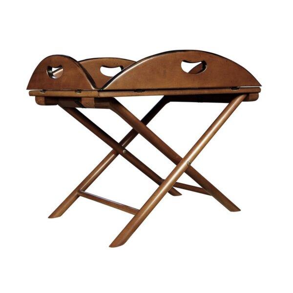 "Ekskluzywny składany stół / taca  ""British Butler"" by Authentic Models"