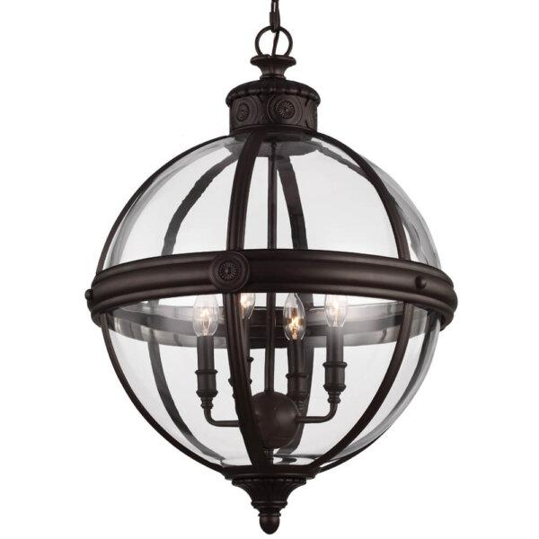 Lampa wisząca ADAMS british bronze FE-ADAMS-4P-BRZ Feiss